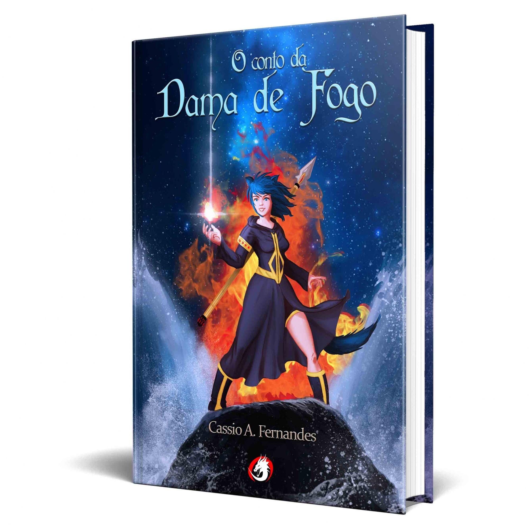 Livro O Conto da Dama de Fogo
