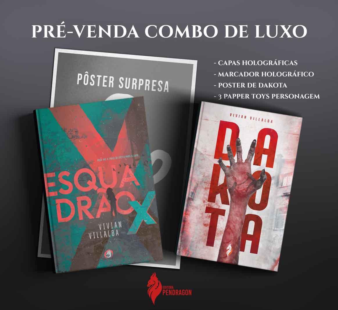 *** PRÉ-VENDA *** DO COMBO DE LUXO VILLALBA