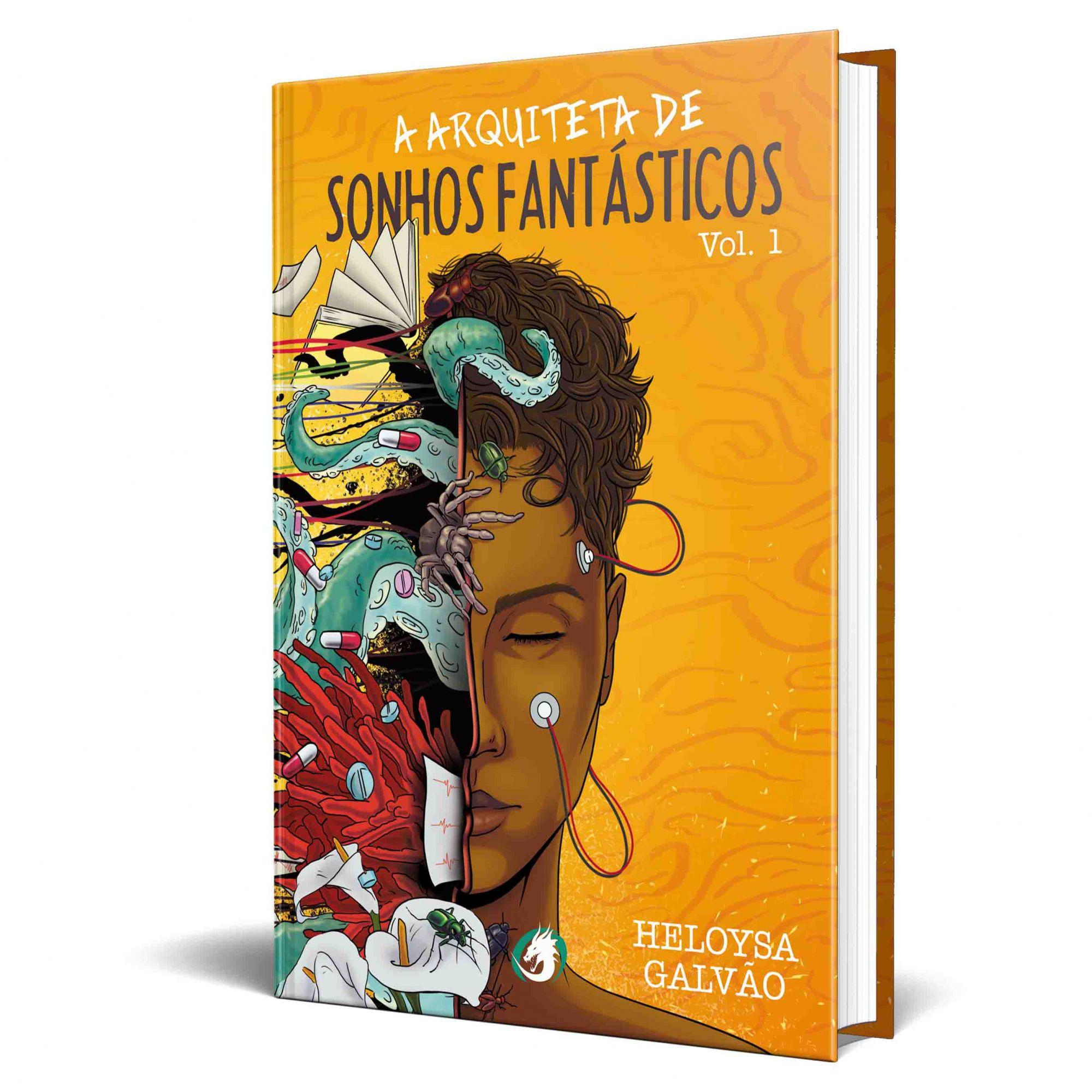 Livro A Arquiteta de Sonhos Fantásticos