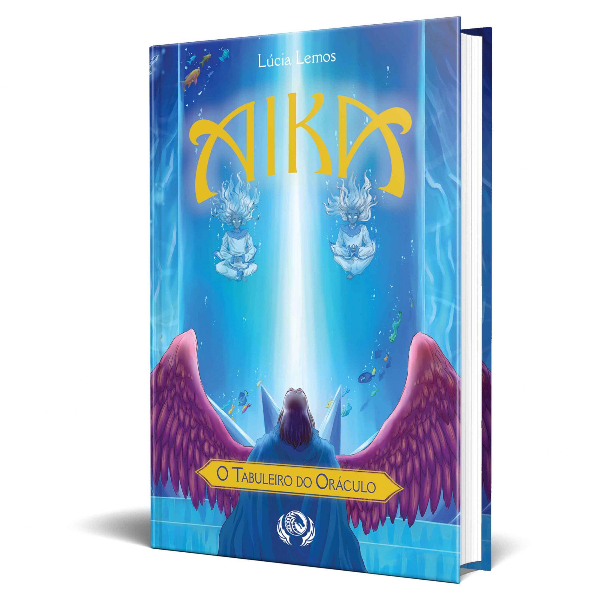 *** Pré-Venda*** Livro Aika - O Tabuleiro do Oráculo Edição de Aniversário