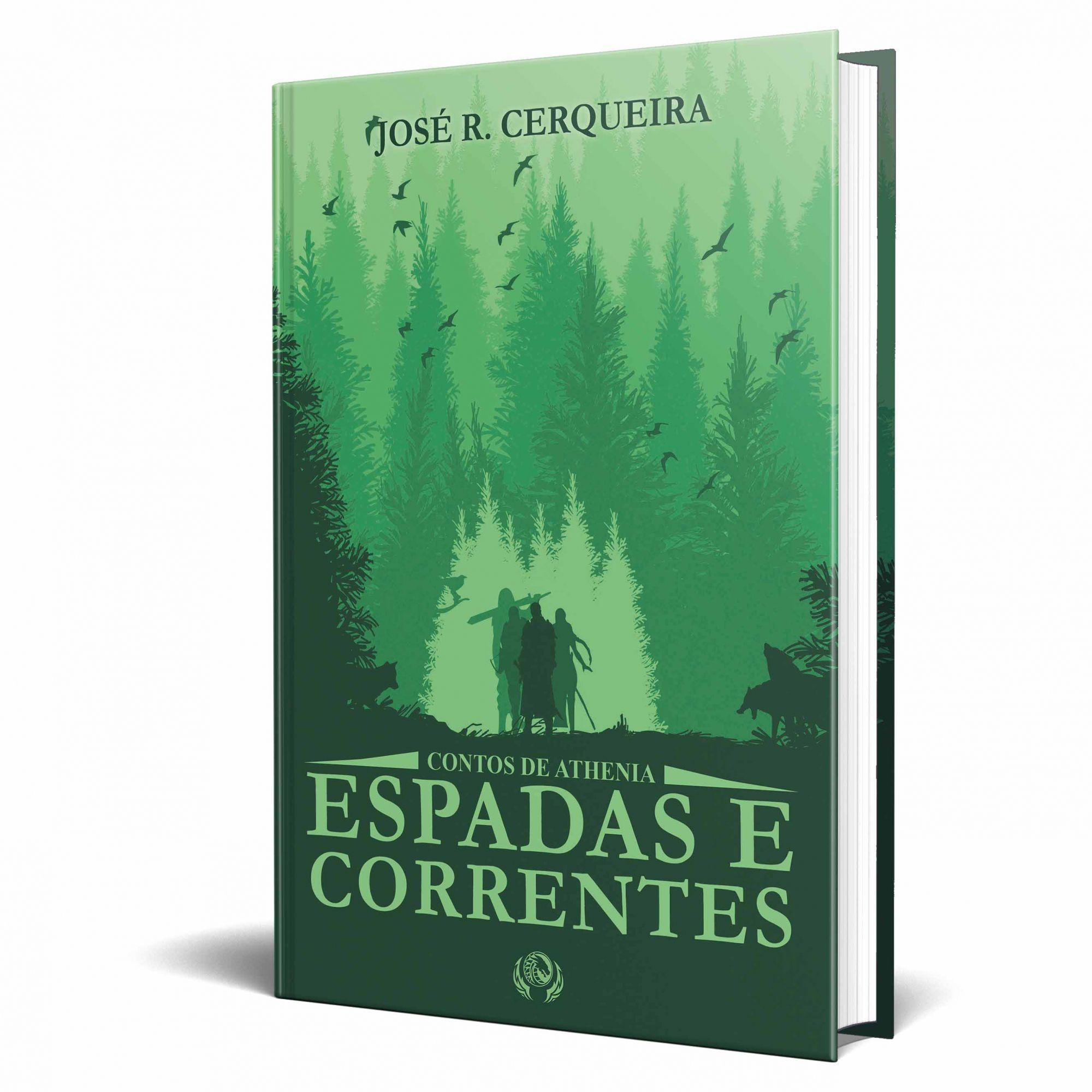 Livro Contos de Athenia - Espadas e Correntes