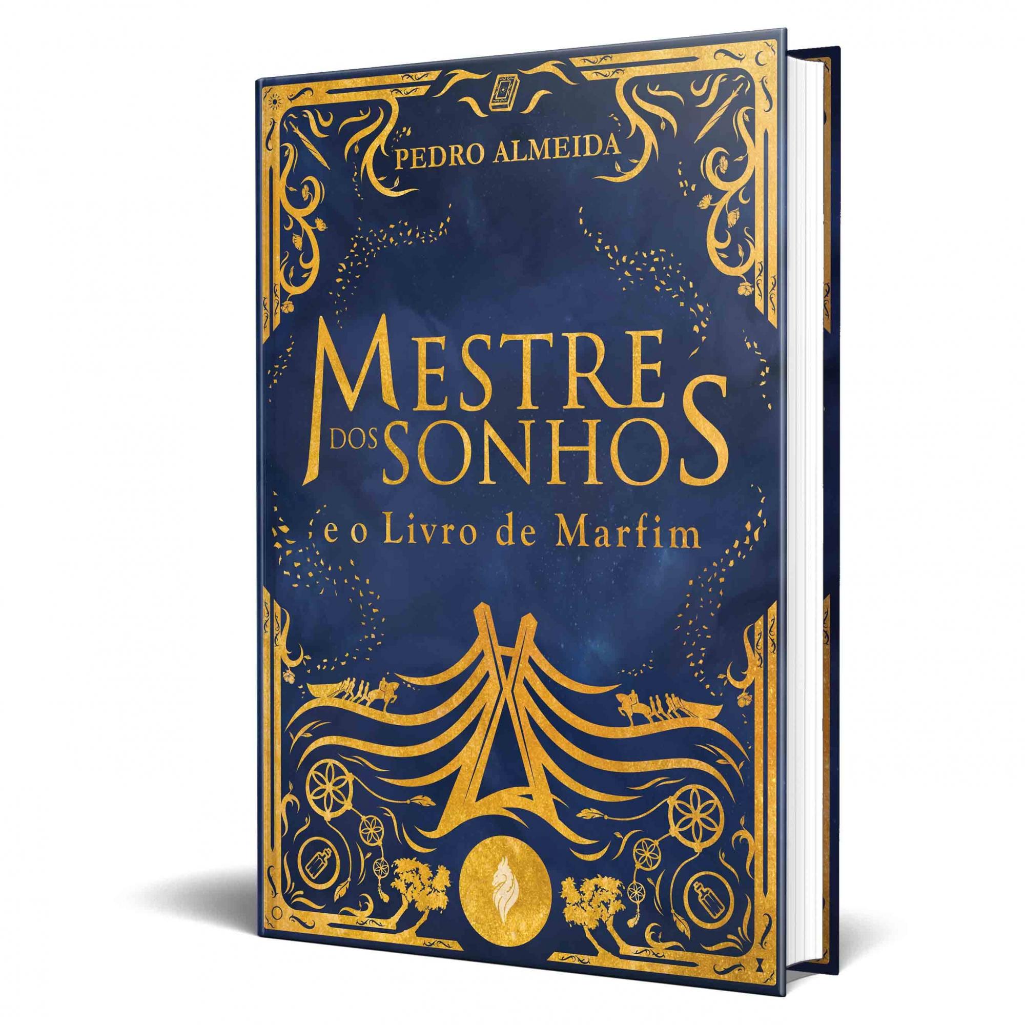 *** Pré-Venda *** do livro Mestre dos Sonhos e o Livro de Marfim