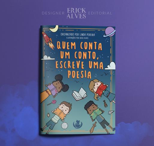 *** Pré-Venda*** do Livro Quem conta um conto, escreve uma poesia