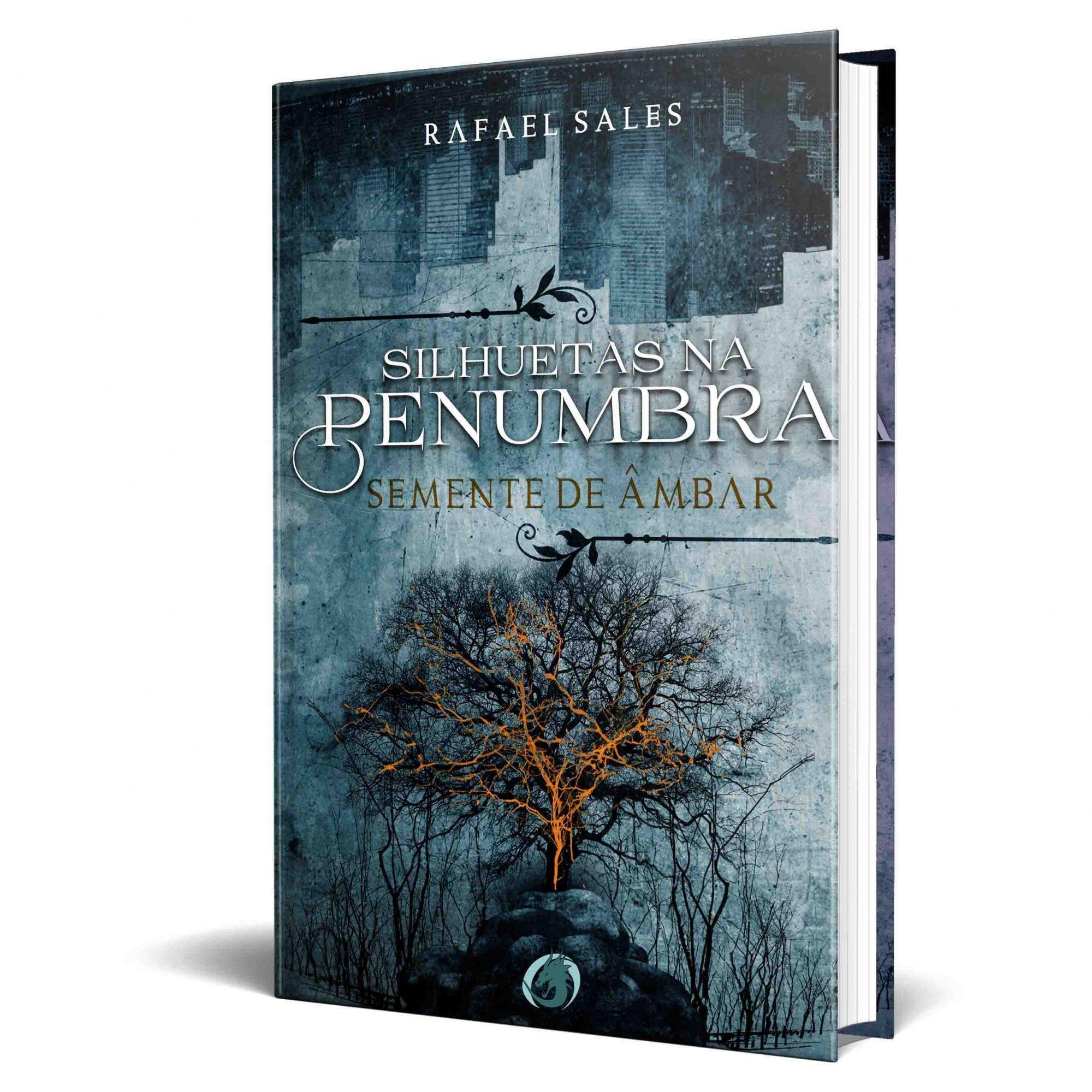 Livro Silhuetas na Penumbra - Semente de Âmbar