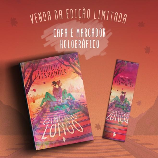 *** VENDA ANTECIPADA*** Livro Caminho Longo - CAPA HOLOGRÁFICA