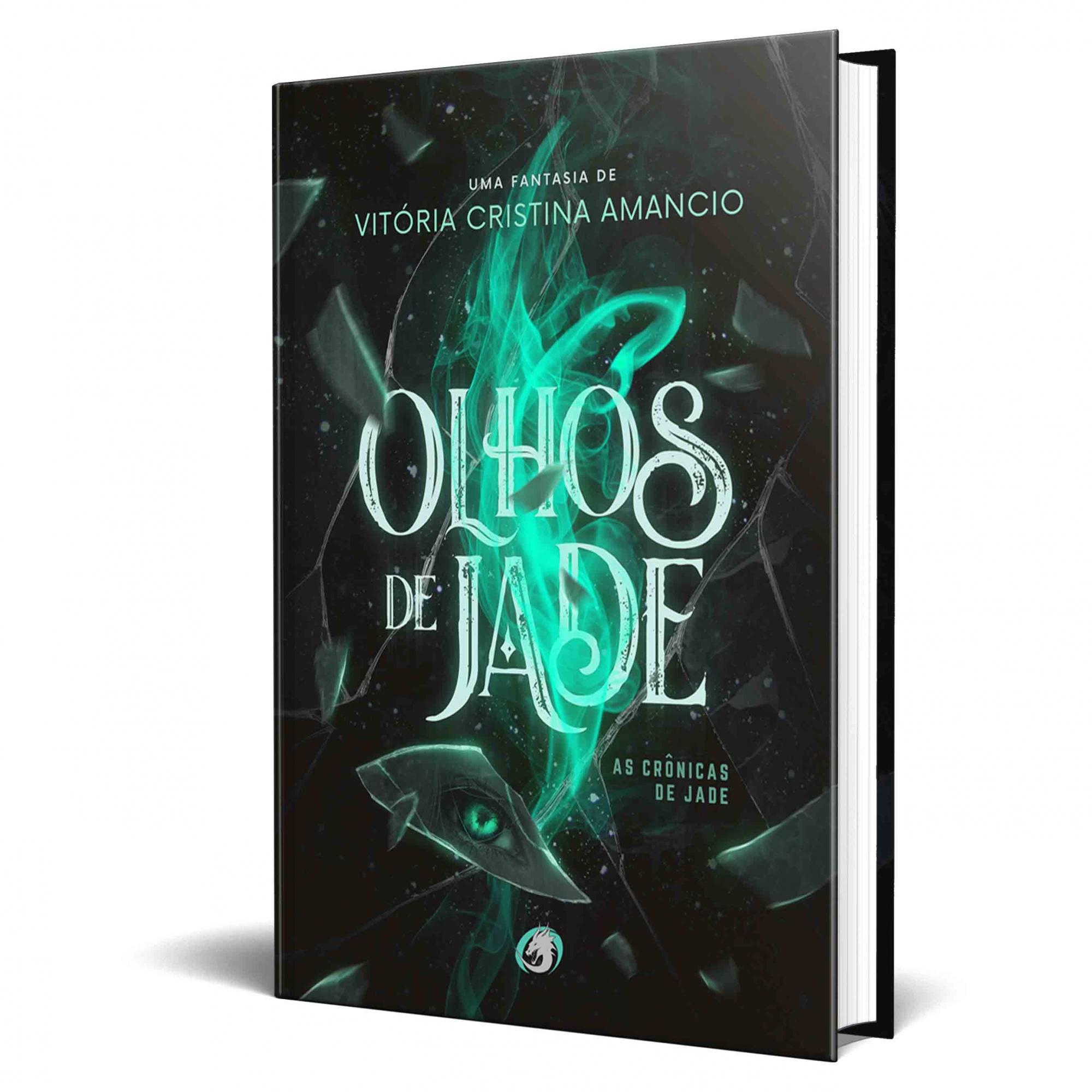 *** Venda Antecipada *** Livro Olhos de Jade - Ed Novo Logo