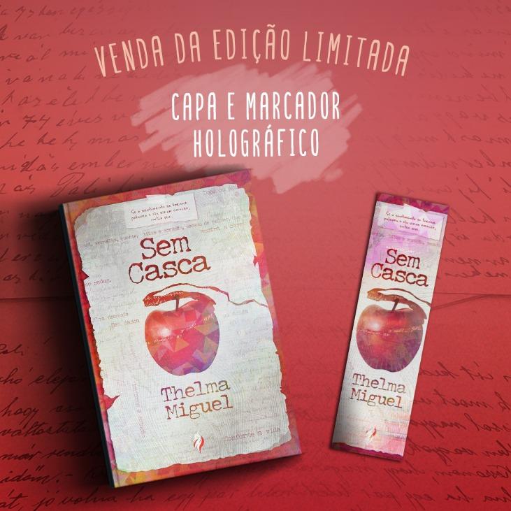 Livro Sem Casca EDIÇÃO HOLOGRÁFICA