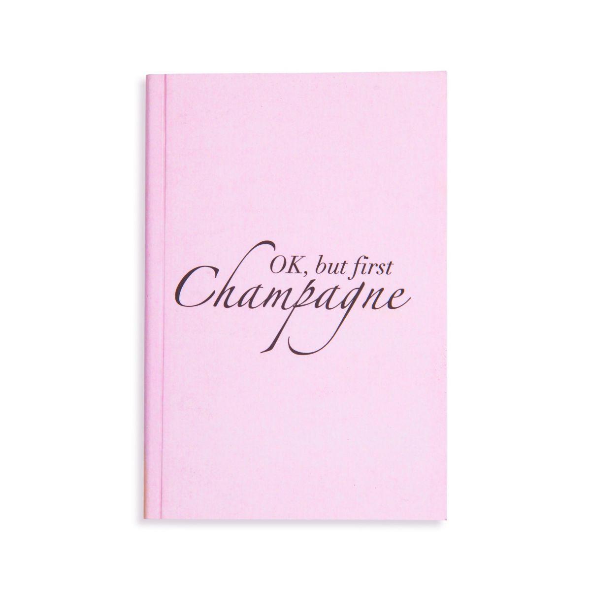 Caderno de notas tipo Moleskine (Champagne)