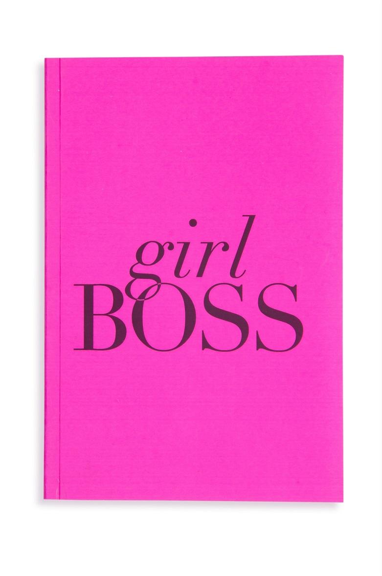 Caderno de notas tipo Moleskine (Girl Boss)