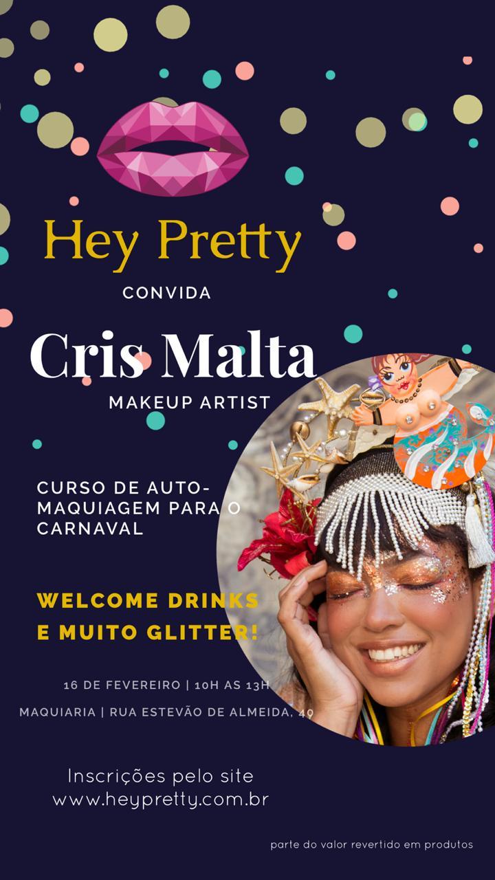 Curso de Auto Maquiagem para o Carnaval