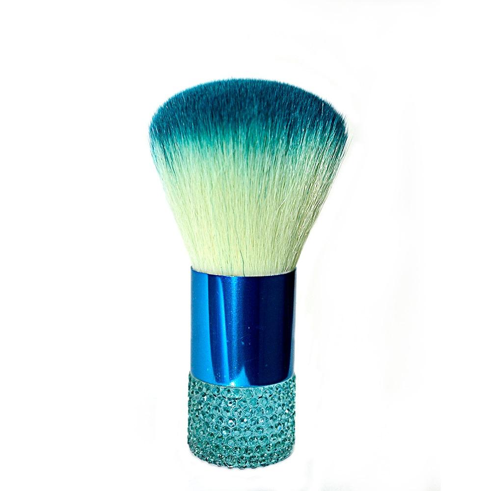 Pincel Kabuki Azul