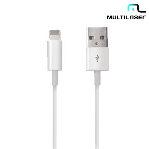 Cabo Multilaser Dados Lighting 8pin para Iphone 5, Ipod, Ipad Wi256