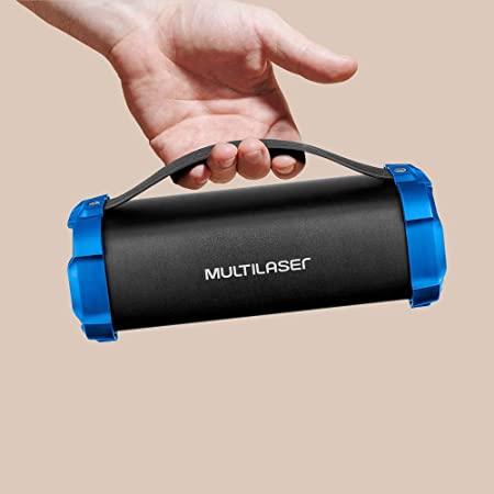 Caixa De Som Portátil Super Bazooka Multilaser - Bluetooth 50W  SP350
