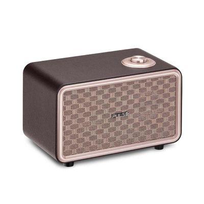 Caixa De Som Retrô Pulse Bluetooth Speaker Presley SP367