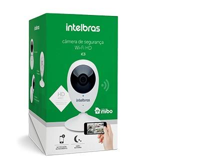 Camera de Segurança Wi-Fi HD iC3 Intelbras