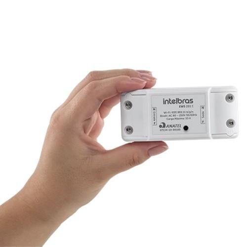 Controlador de Cargas Wi-Fi EWS201E Intelbras