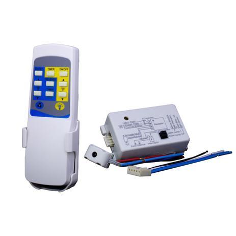 Controle Remoto para Ventilador de Teto PW 789 Branco