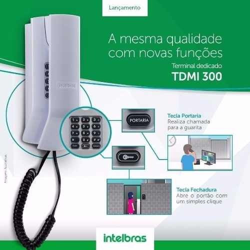Interfone Intelbras Tdmi 300