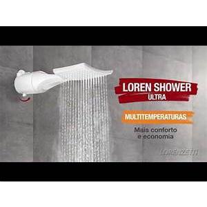 Ducha Loren Shower Ultra Eletronica 7500w 220v