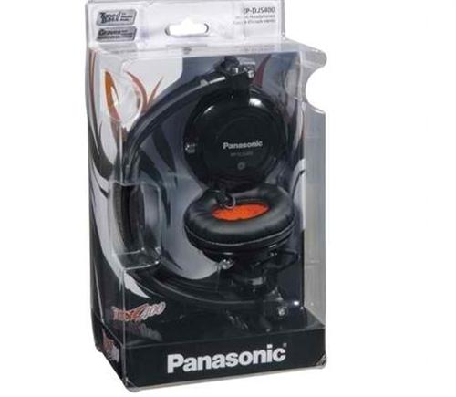 Fone de ouvido RP-DJS400A Preto Panasonic