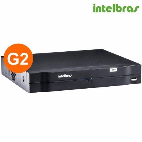 Gravador Intelbras digital de vídeo Tríbrido - HDCVI 1016(16 canais)