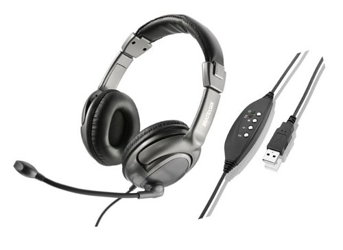 Headset Digital Multilaser Usb Ph043
