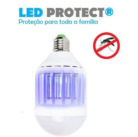 Lampada Anti Inseto Led Branca LED PROTECT 127V