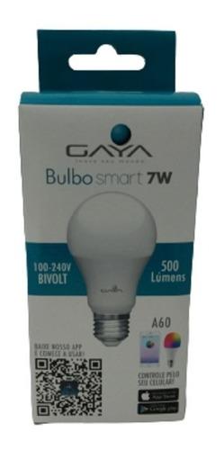 Lampada Bulbo Smart 7w A60 Bivolt 500 Lúmens 9820 Gaya