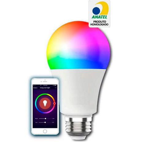 Lâmpada Led Wifi Smart Cores RGB EWS410 - Intelbras
