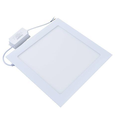 Painel LED LUX Quadrado Embutir 18W 6500K Bivolt Taschibra