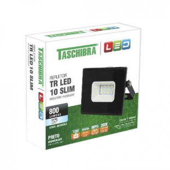 Refletor 10w Led 6500K Taschibra