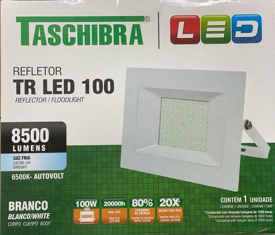 Refletor Led Taschibra 100w 6500k Branco