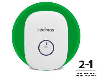 Repetidor Wireless Intelbras Iwe3000n 300Mbps
