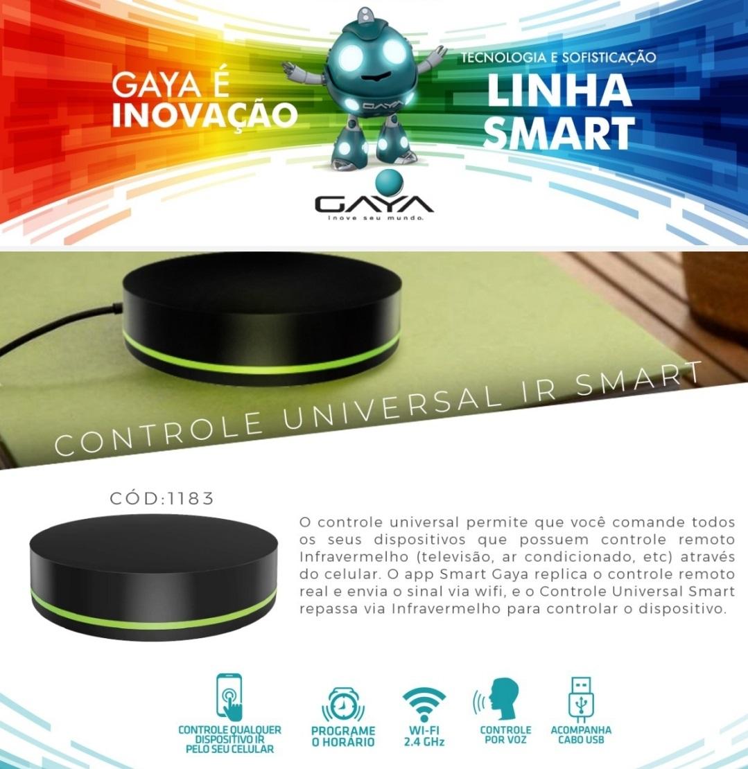 Smart Controle Universal IR GAYA 1183