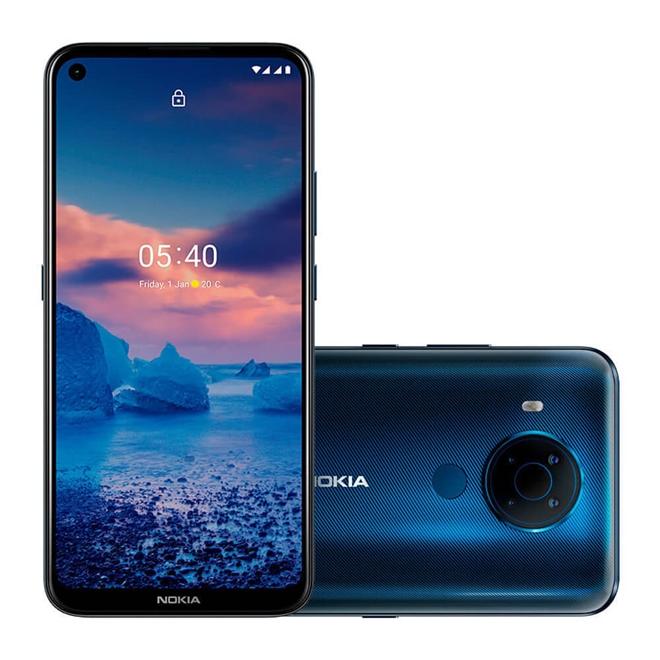 Smartphone Nokia 5.4 128gb  4gb Ram  Azul Nk025