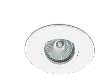 Spot Interlight Dicroica 0075-BMTX(branco Fosco)