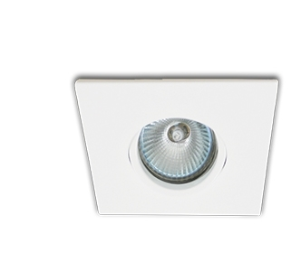 Spot Interlight Dicroica 0076-GZ(branco liso)