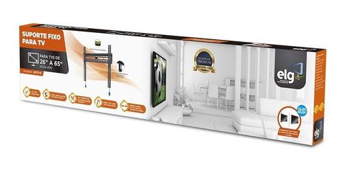 Suporte de Parede Tv Led 3d Lcd Plasma 32 A 65 N01V4 Elg