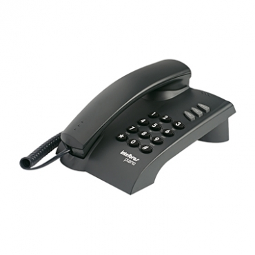 Telefone Comm Fio Intelbras Pleno Preto