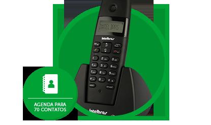 Telefone Sem Fio Intelbras TS40ID