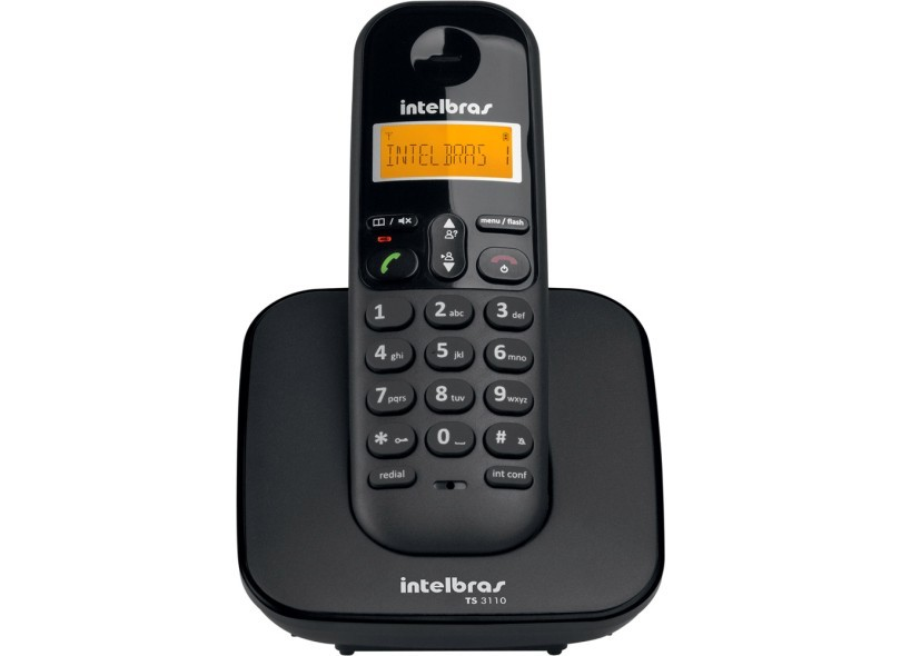 Telefone sem fio TS 3113 digital com 2 ramais Intelbras