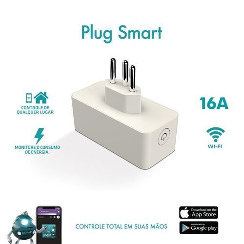 Tomada Inteligente Wifi Smart 16a