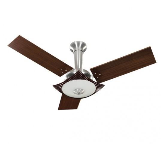 Ventilador TRON Naulu 3p 127v pá escura