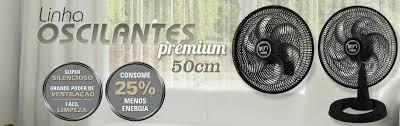 Ventilador TRON Premium Mesa 50cm Preto 127V