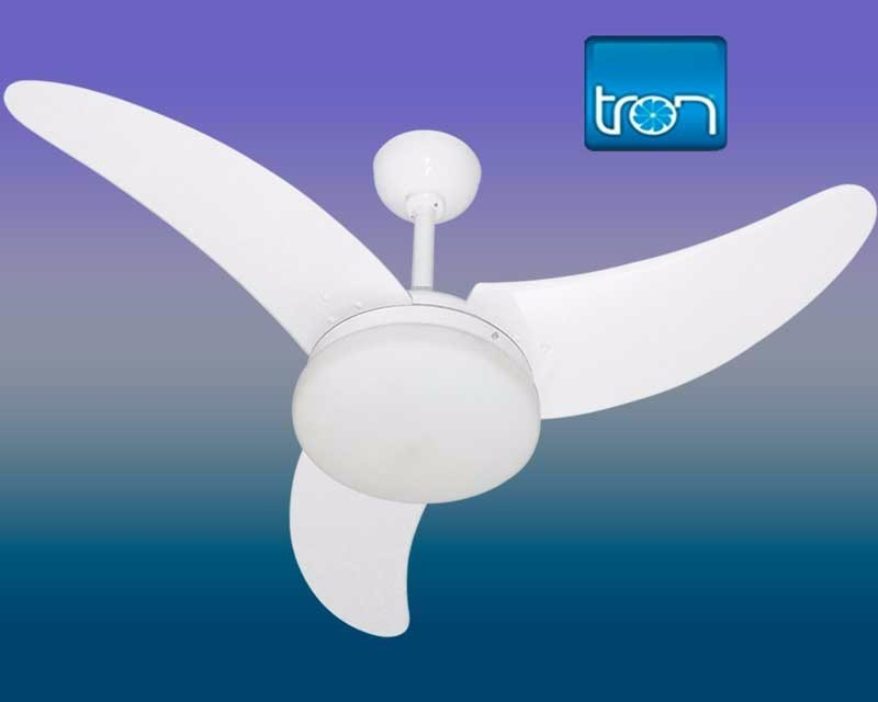 Ventilador TRONItaparica 3p 127v Branco
