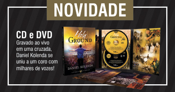 CD e DVD Holy Ground Daniel Kolenda
