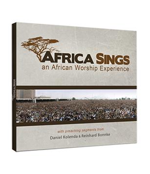 CD África Sings - CfaN Music - Evangelistas Daniel Kolenda e Reinhard Bonnke  - Cristo para Todas as Nações