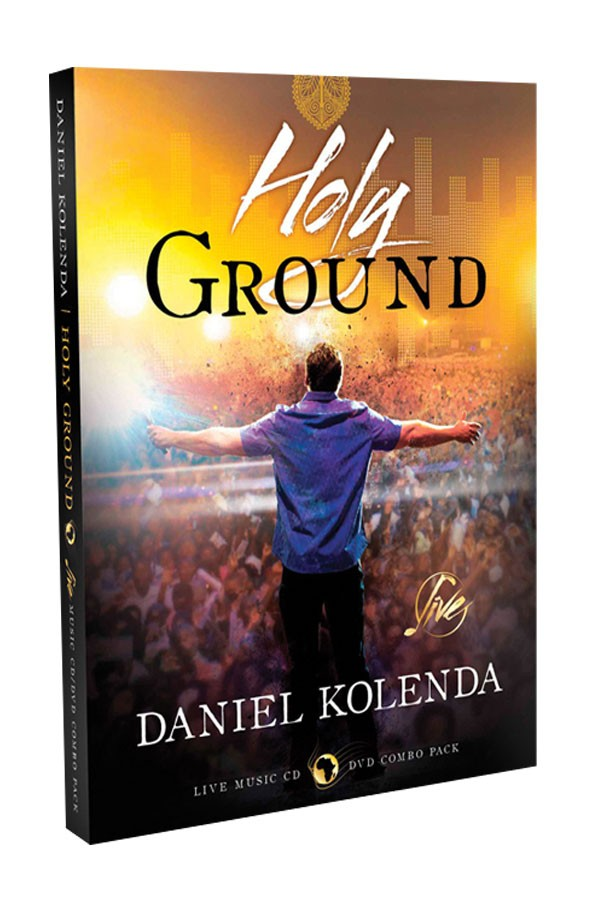 DVD Holy Ground Evangelista Daniel Kolenda - Gravado AO VIVO em Gana na África - CfaN Brasil  - Cristo para Todas as Nações