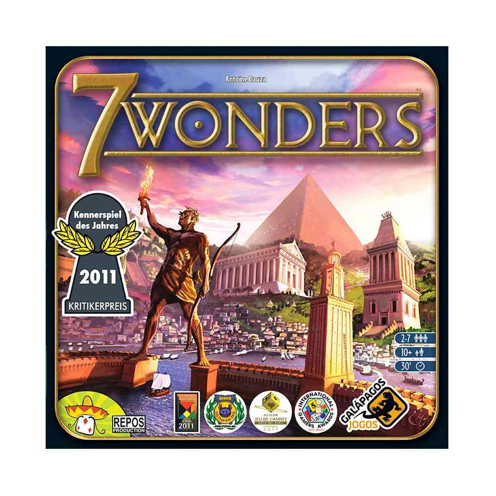 7 Wonders Jogo de Tabuleiro