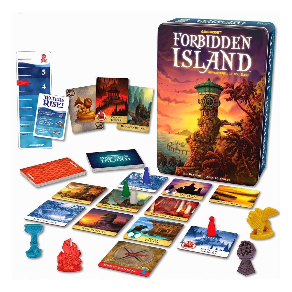 A Ilha Proibida Jogo De Cartas Devir